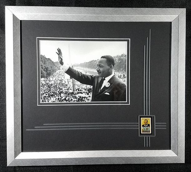 SOLD USPS Martin Luther King Jr. Framed Commemorative