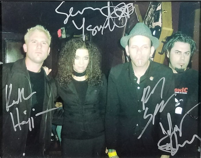 SIGNED WHITE ZOMBIE SEAN YSAULT/ROCK CITY MORGUE