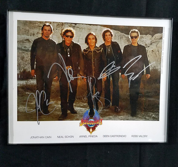 SOLD Journey signed 8 by 10 photo