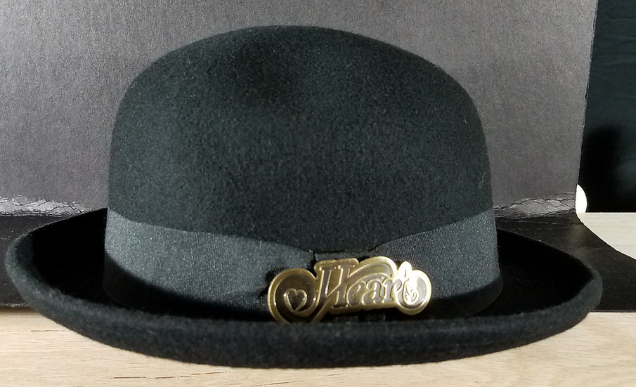 M 325 Heart VIP Merchandise Special - Bowler Derby Hats (2) & Other VIP Merchand