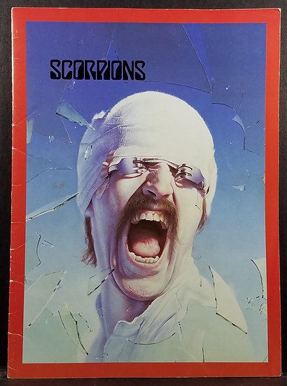 "1982 Scorpions ""Black Out"" Tour Program - Very Good Condition!"