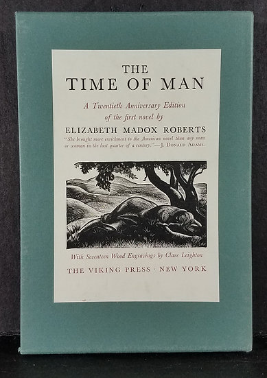 THE TIME OF MAN/Elizabeth Madox Roberts