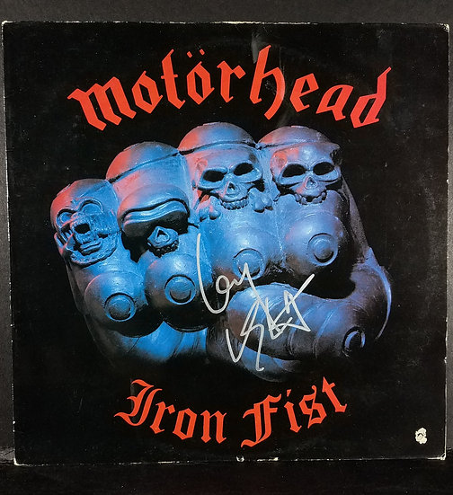 "Motorhead signed ""Iron Fist""/ $145.00/OBO"