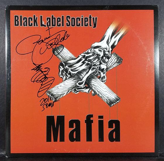 "JSA Authenticated Zakk Wylde Black Label Society autographed ""Mafia"" LP"