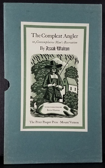 The Compleat Angler, or The Contemplative Man's Recreation/ Isaak Walton