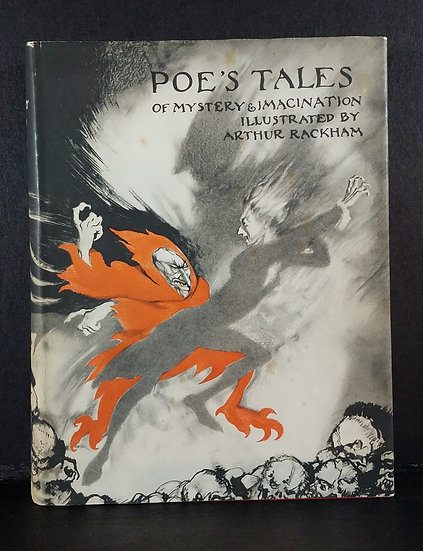 SOLD - Poe's Tales Of Mystery & Imagination/Edgar Allan Poe/1935