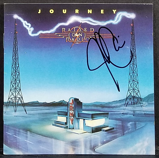 "Journey signed CD Booklet ""Raised On Radio"" NICE!"