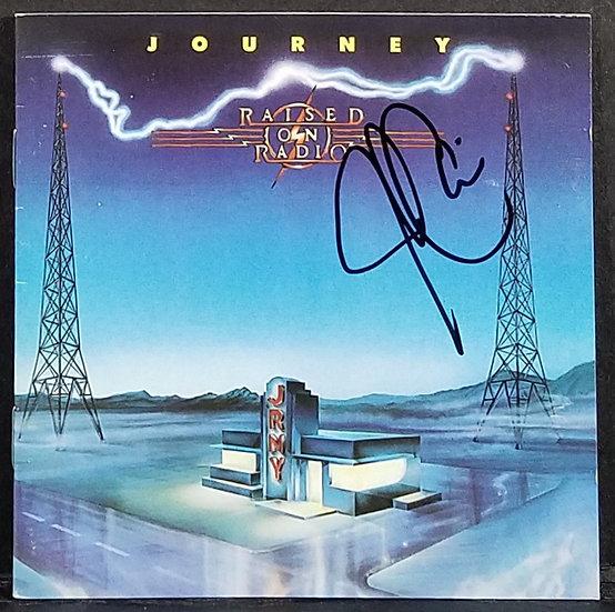 """Journeysigned CD Booklet """"Raised On Radio"""" NICE!"""