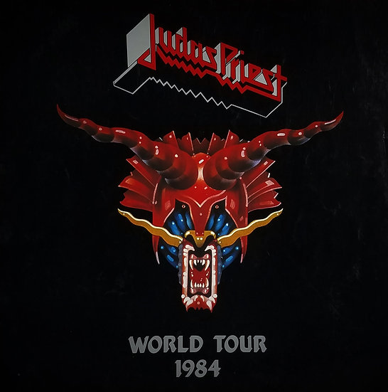 "SOLD Judas Priest Vintage (1984) ""Defenders of the Faith"" Tour Program"