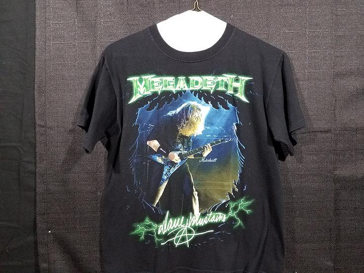 Megadeth Concert Shirt 2013 - Medium