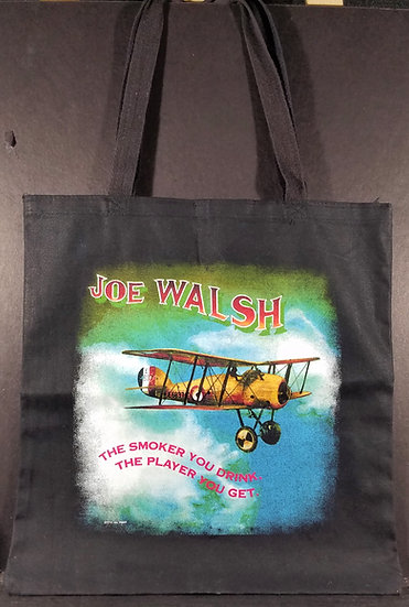 Joe Walsh VIP Tote Bag, Tour 2016. A VIP item. Excellent Condition! Really nice!