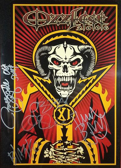 Ozzfest 2006 Fully Signed Tour Program 8/6/2006 Bristow VACool!