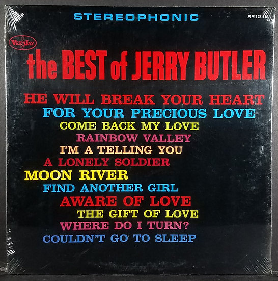 """""""The Best Of Jerry Butler"""", SEALED, VJSR 1048, Mid 60s, VJSR 1048"""