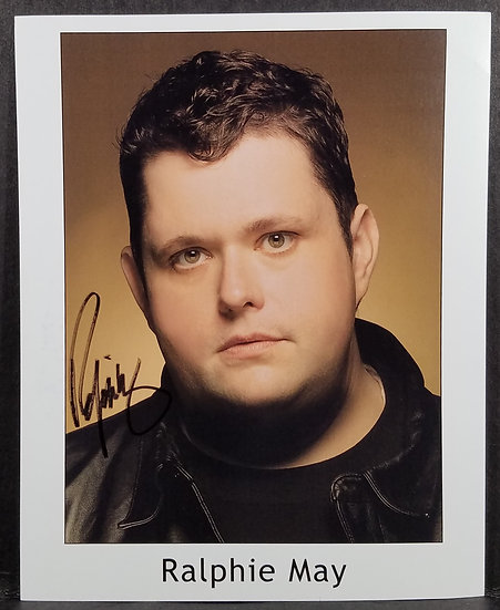 Signed Ralphie May 8 x 10 Photo - Please See Below