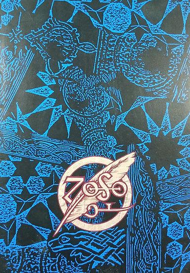 """Led Zeppelin - Page/Plant """"No Quarter"""" Tour Program Book, 1995."""