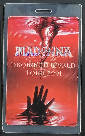 """Madonnna """"All Areas Access"""" Backstage Pass 2001 Tour"""