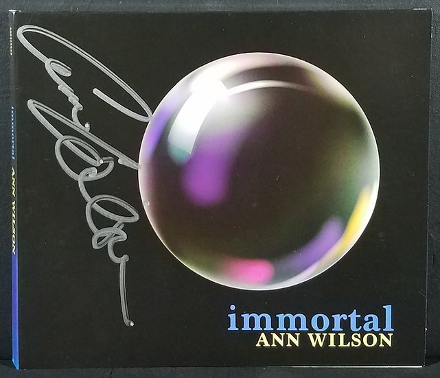 Anne Wilson signed CD Immortal