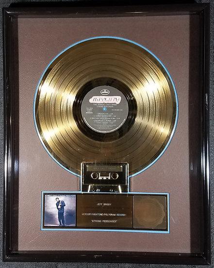"SOLD RARE Robert Cray RIAA Award, ""Strong Persuader"" Certified Gold, 1986"