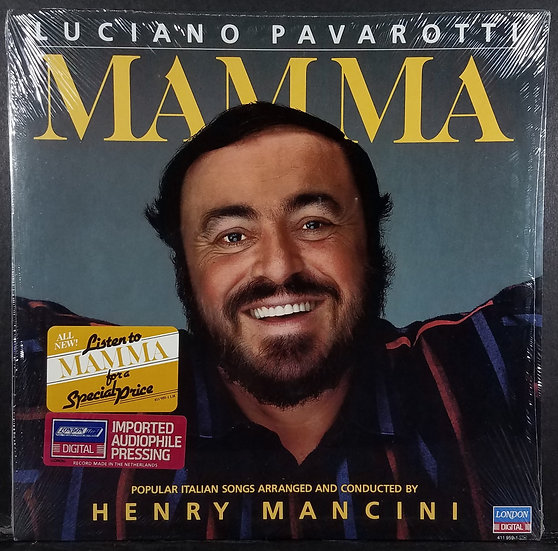 "Luciano Pavarotti ""Mamma"" SEALED/NEW, 1984. $19.99"
