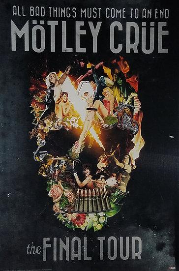Motley Crue Final Tour Promo Poster