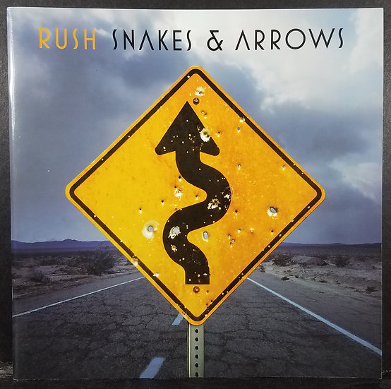 RUSH Official Tour Program Book, Snakes & Arrows, 2008+ Ticket