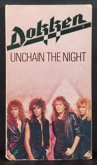 "Vintage Dokken VHS ""Unchain The Night"""