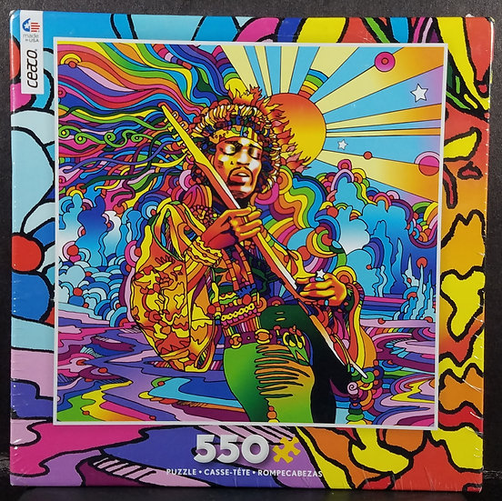 SOLD Ceaco POP ART Jimi Hendrix 550 Piece Puzzle Brand New/Sealed