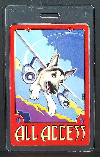 Tom Petty 1995 ALL ACCESS Dogs With Wings Laminate Pass Pass