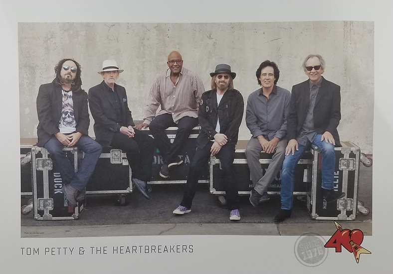 Tom Petty/Heartbreakers 40th Anniversary Fan Club Poster,