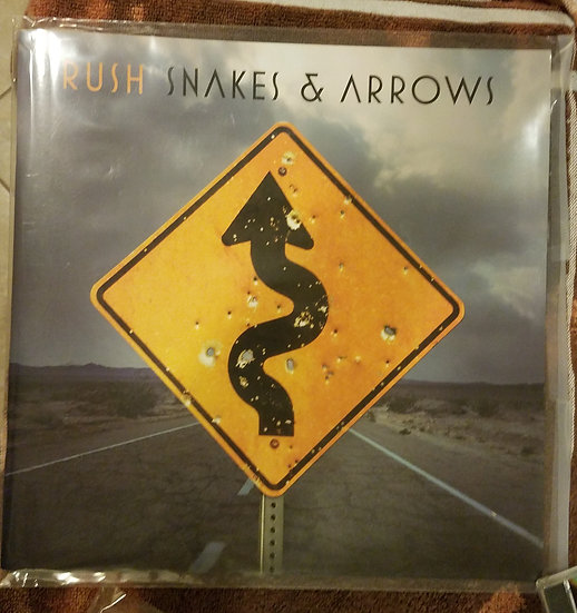 """Rush""""Snakes and Arrows"""" Tour Program Booklet"""
