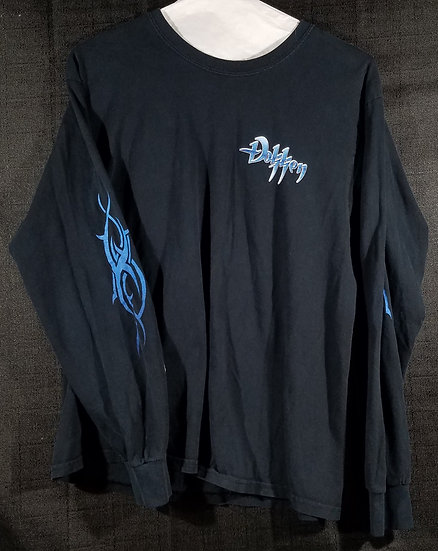 Dokken Official Pre-owned Long-sleeve Concert Tour Shirt Good Cond.