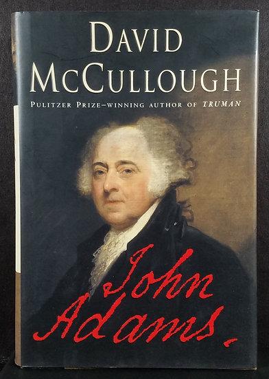 SOLD John Adams, David McCullough, 2001, Excellent Cond.
