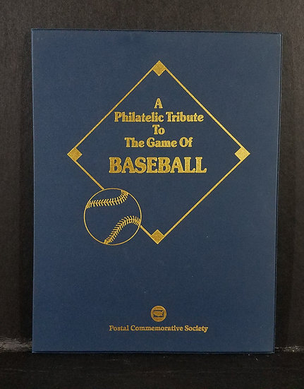 A Philatelic Tribute To The Game Of Baseball Stamp Folio