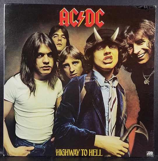 SOLD AC/DC LP Highway To Hell 1979 SD 19244 VG - VG+ Cond*
