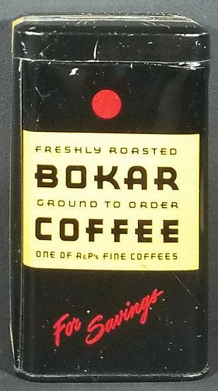 Vintage Boker Coffee Tin Coin Savings Bank