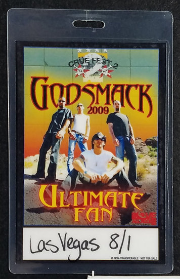 Godsmack VIP Meet & Greet Backstage Pass Hard Rock LV