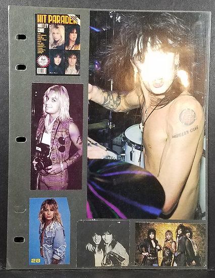 """Motley Crue """"LOT"""" OF Vintage Collection of Memorabilia, Cool!"""