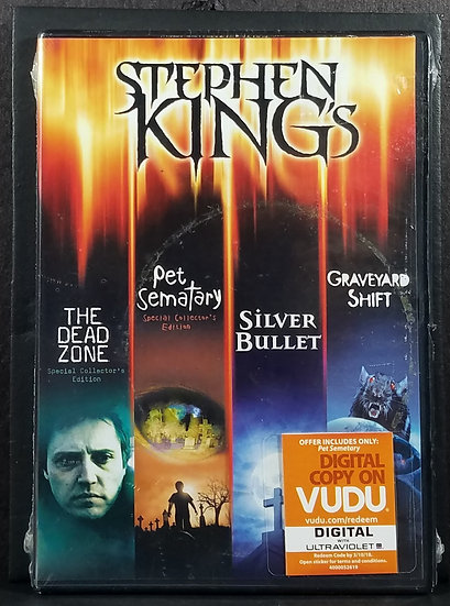 Stephen King Collection, 4 DVDs (Movies) - SEALED/NEW
