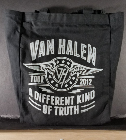 "Van Halen Tote Bag ""A Different Kind of Truth"""