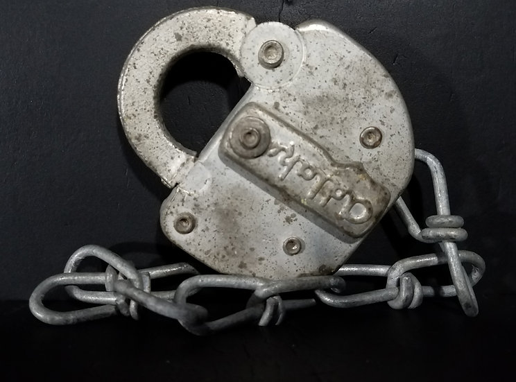 Vintage Used/Obsolete Adlake Railroad Padlock