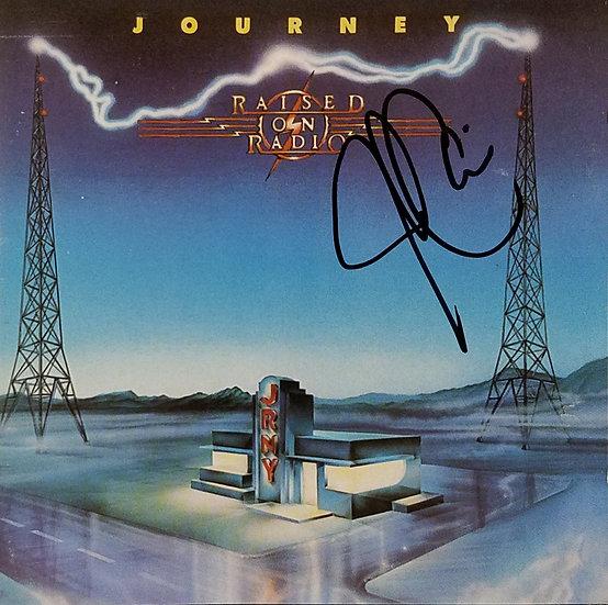 """Journeysigned CD """"Raised on Radio"""""""