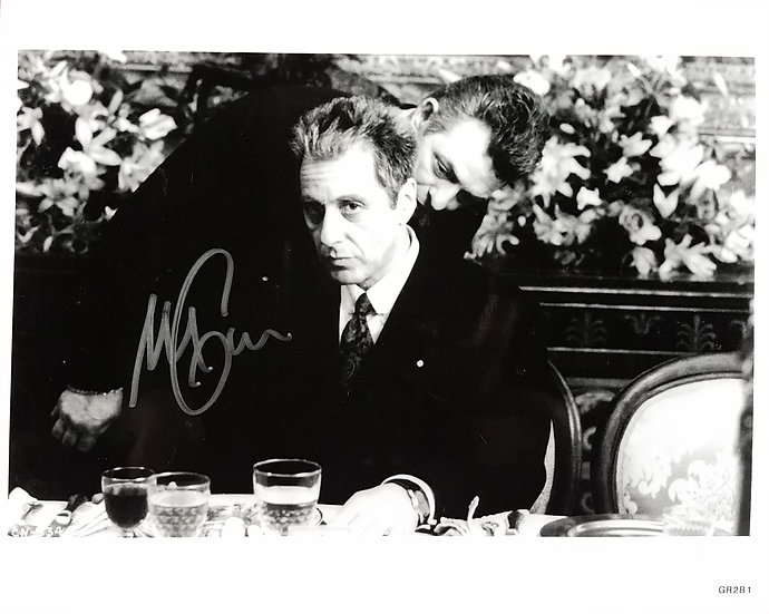"""SOLD Pacino signed 8 x 10 """"The Godfather"""" - almost sold out"""