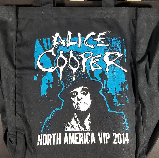 NEW Alice Cooper VIP Tote Bag 2014 11 x 14 inches - Brand New/Never Used - Nice!