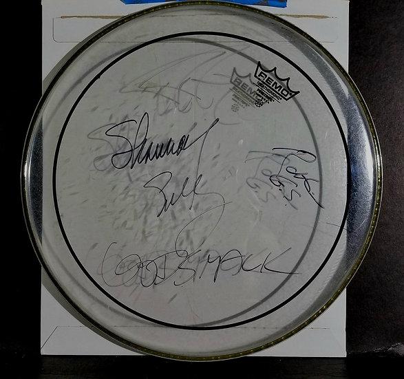 Godsmacksigned Drumhead