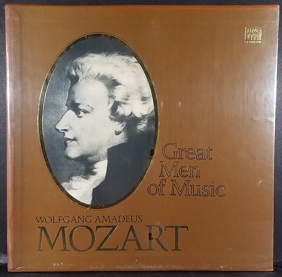 "Mozart ""Time Life Great Men Of Music"", SEALED, 4LP STL-542 Vinyl Box Set"