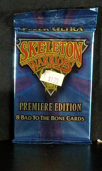 "1995 Fleer Ultra Skeletor ""Bad to the bone"" card packs"