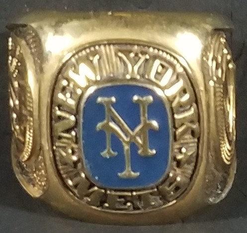 New York Mets Large Brass Ring