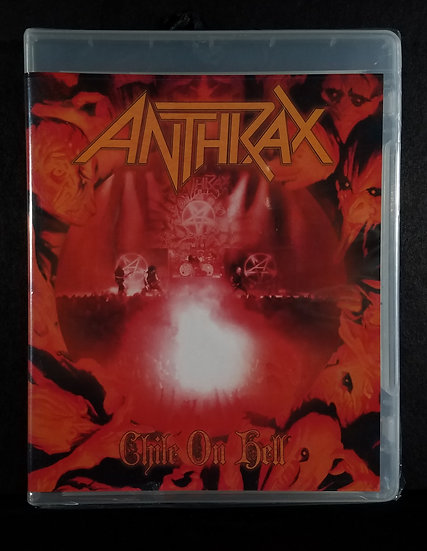 "Anthrax DVD ""Chile On Hell"" -  NEW"