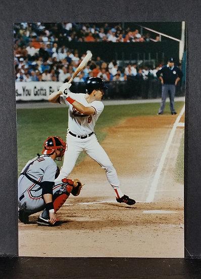 """Orioles Cal Ripkin""""Two 8 x 10 Photos"""""""