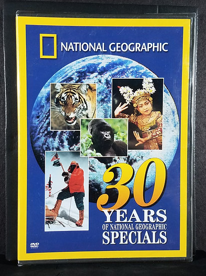 """Sealed/New National Geographic DVD, 2003 """"30 years..."""""""